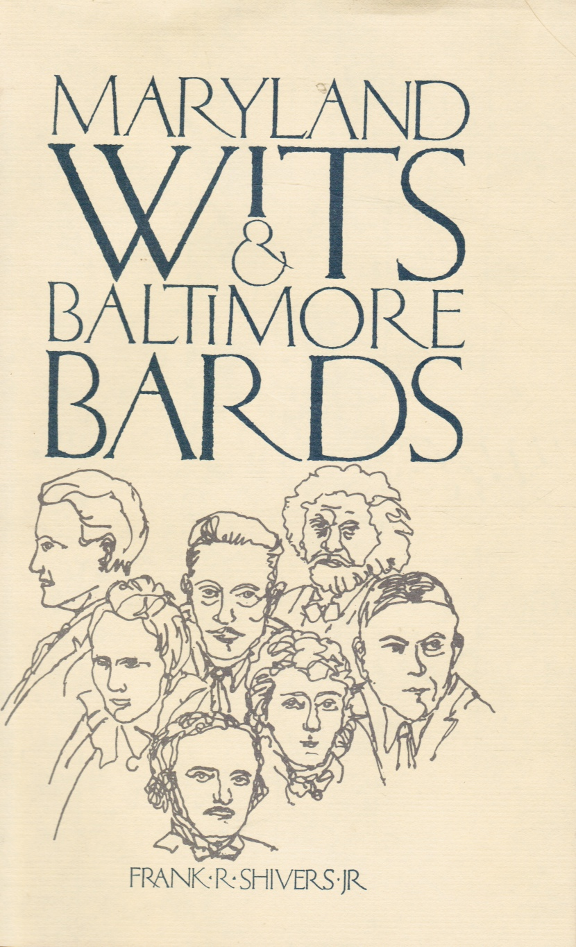 Image for Maryland Wits and Baltimore Bards: a Literary History, with Notes on Washington Writers
