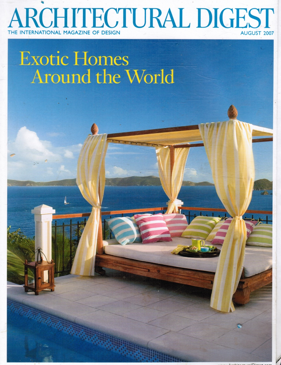 Image for Architectural Digest 2007 August - Exotic Homes Around the World