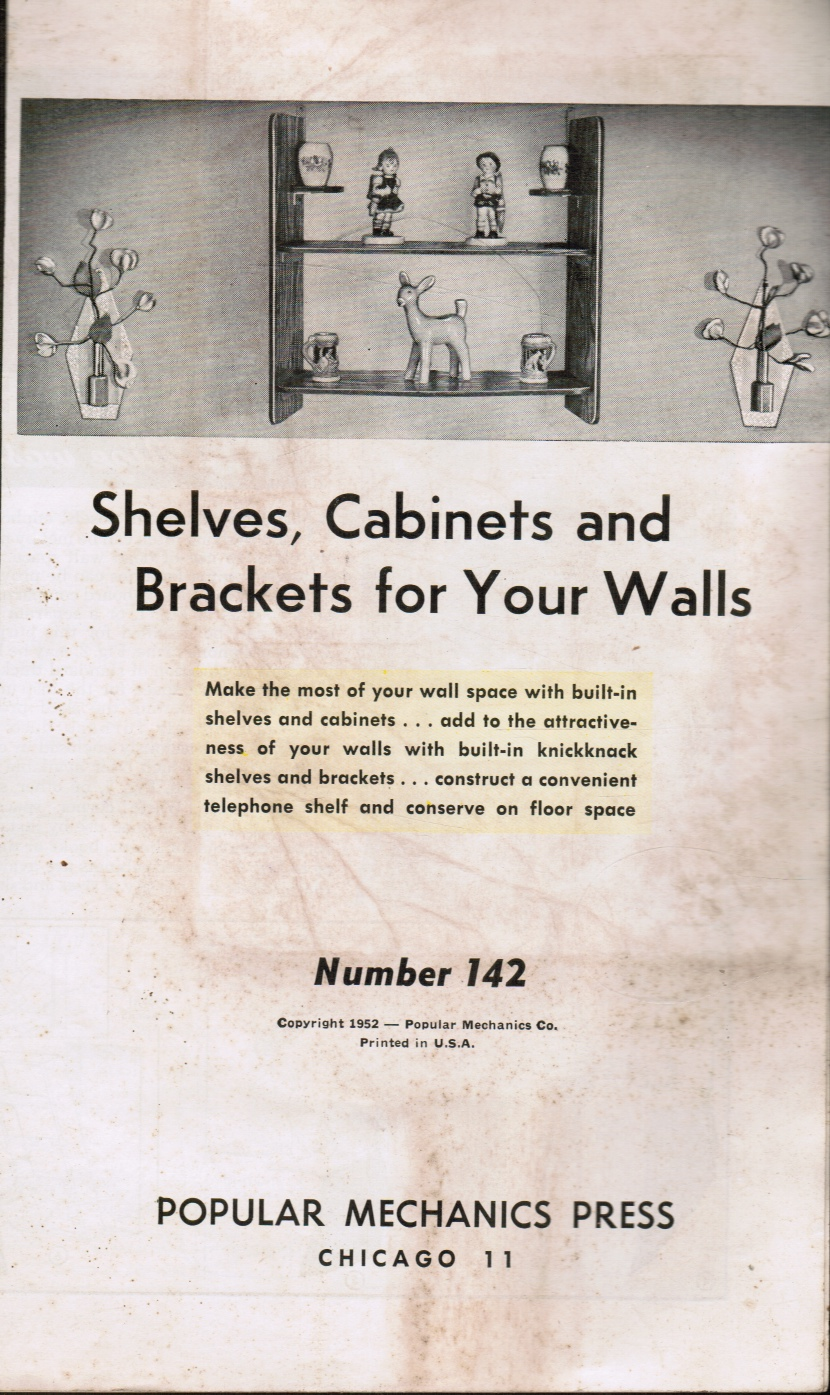Image for Shelves, Cabinets and Brackets for Your Walls