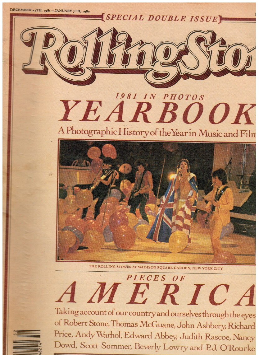 Image for Rolling Stone Magazine # 359/360 December 24 1981 to Jan 7, 1982 Yearbook 1981