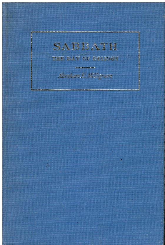 Image for SABBATH, the Day of Delight