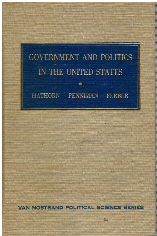 Image for Government and Politics in United States
