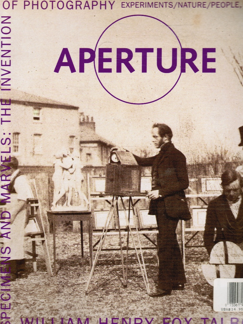 Image for Aperture 161 Specimens and Marvels: William Henry Fox Talbot the Invention of Photography - Winter 2000