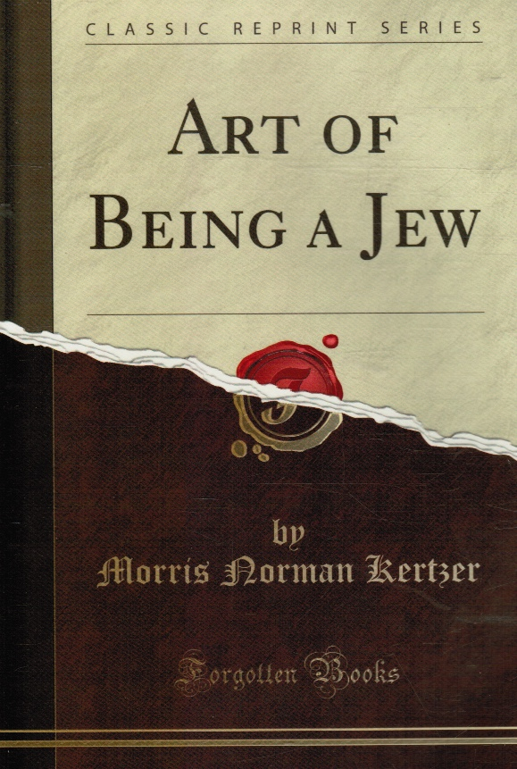 Image for Art of Being a Jew