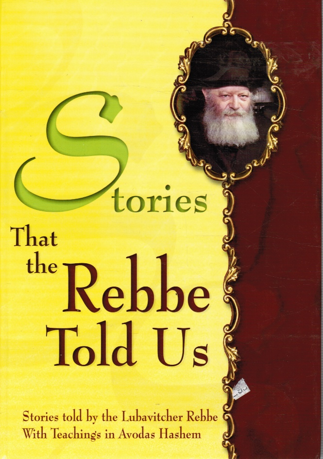 Image for Stories That the Rebbe Told Us - Adapted for Children