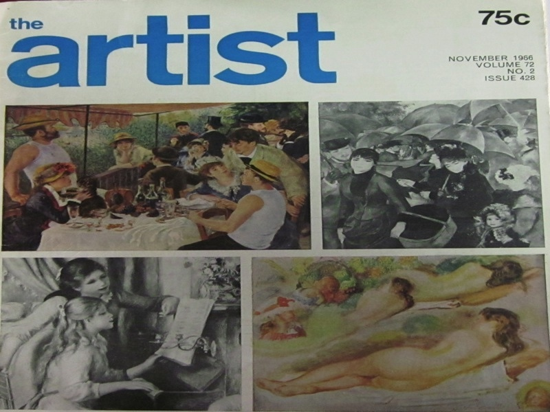 Image for The Artist Volume 72, No. 2, Issue 428, November 1966