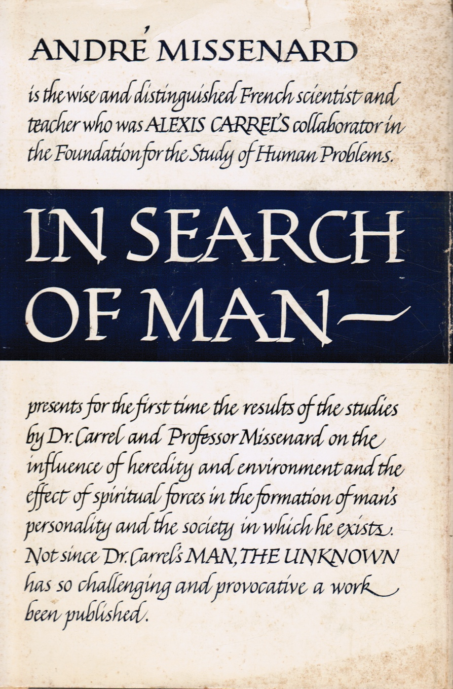 Image for In Search of Man