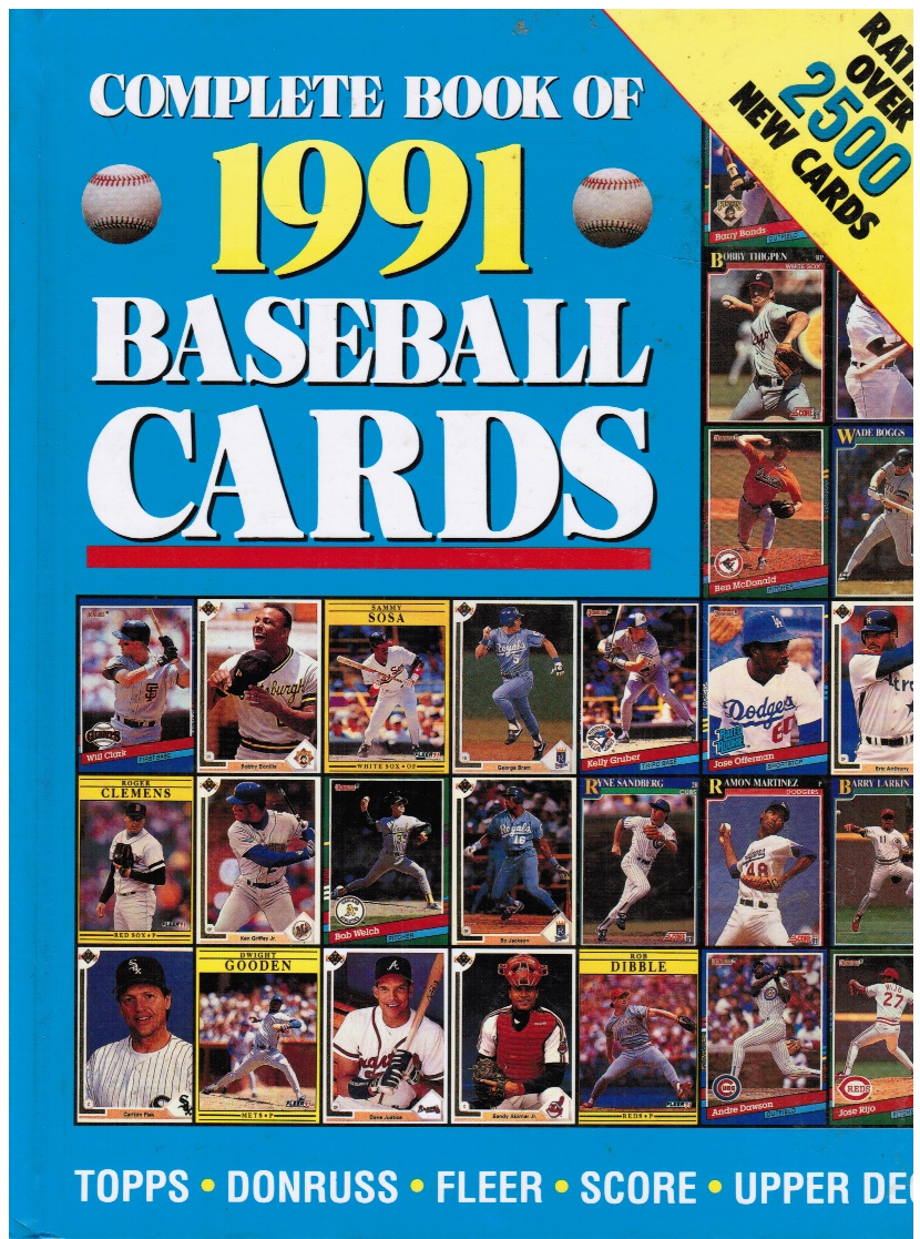 Image for Complete Book of 1991 Baseball Cards