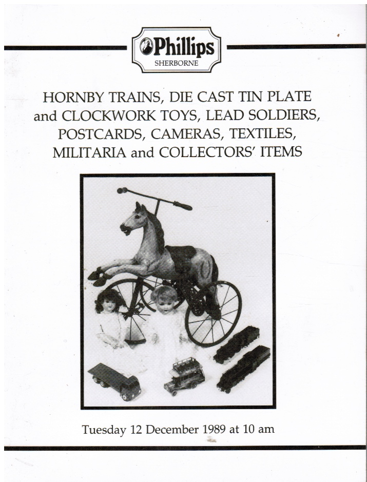 Image for Hornby Trains, Die Cast Tin Plate And Clockwork Toys, Lead Soldiers, Postcards, Cameras, Textiles, Militaria, And Collectors' Items