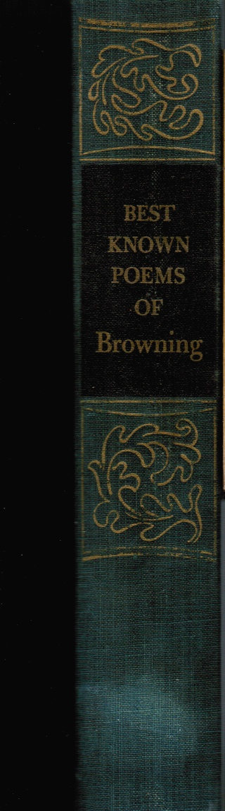 Image for The Best Known Poems of Elizabeth & Robert Browning