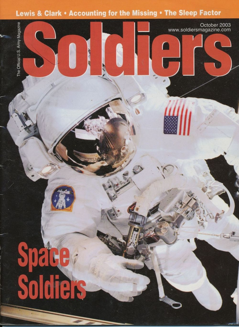 Image for Soldiers Magazine : International Space Station; Lewis & Clark Expedition