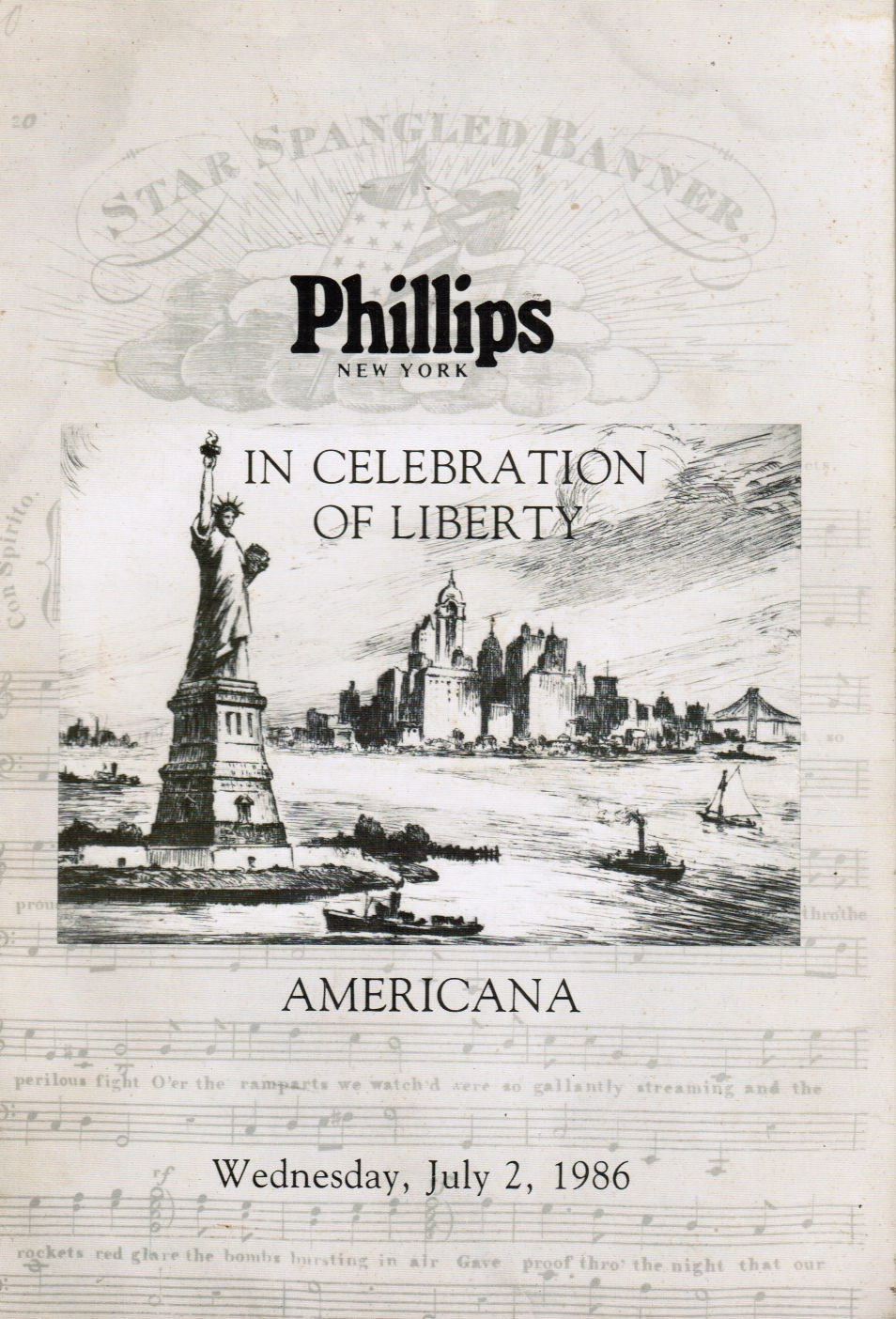 Image for In Celebration of Libery: Americana: July 2, 1986