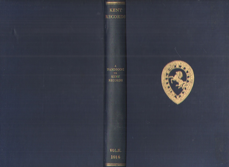 Image for Kent Archaeological Society, Records Branch, Volume II