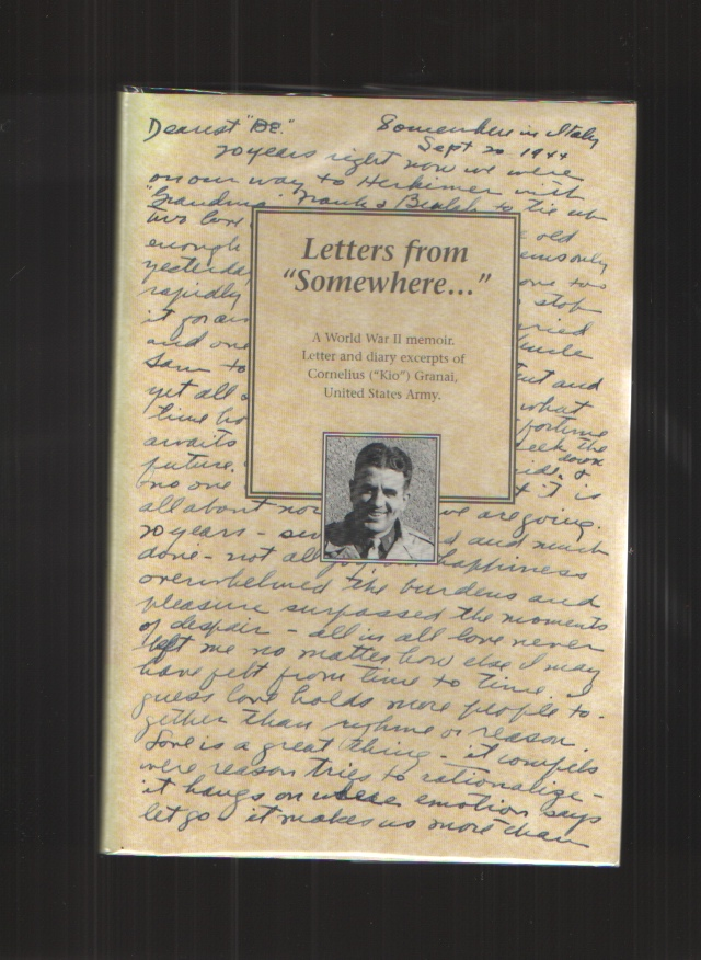 """Image for Letters from """"somewhere...""""  A memoir from World War II"""