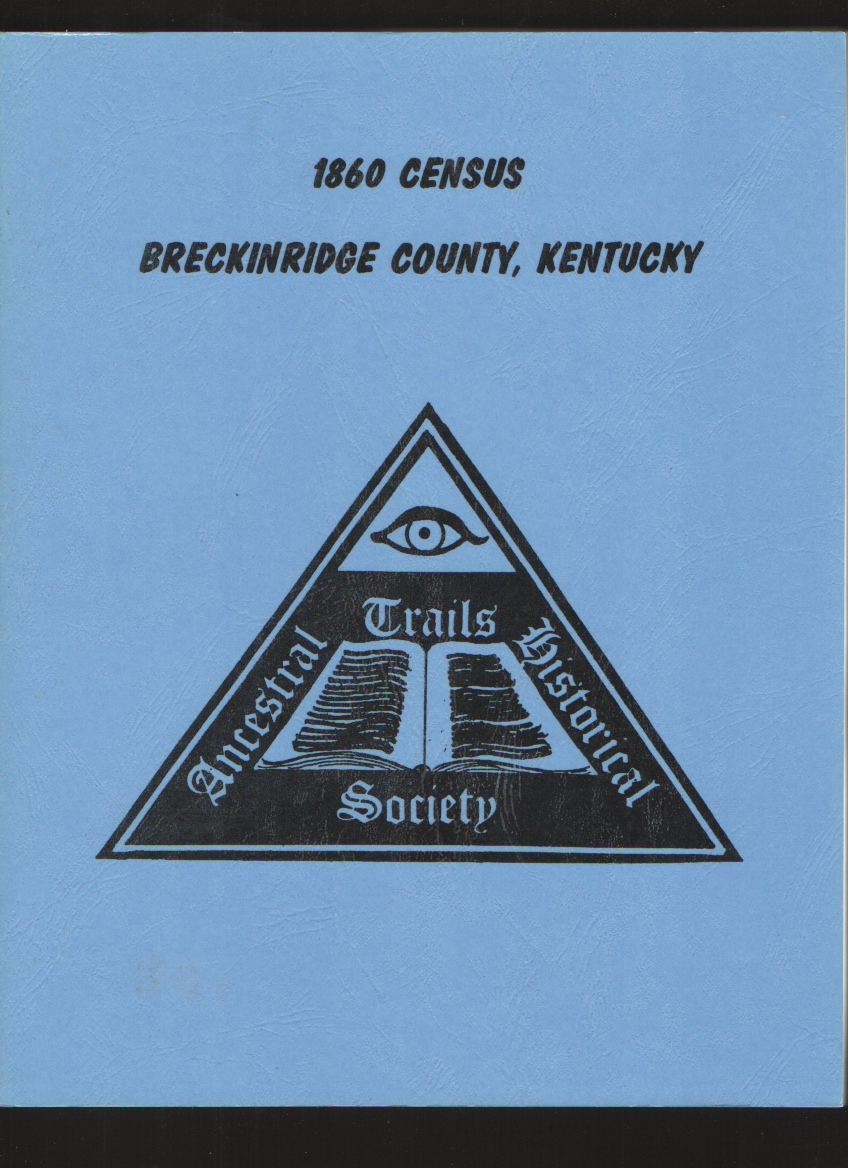 Image for 1860 Census Breckinridge County, Kentucky