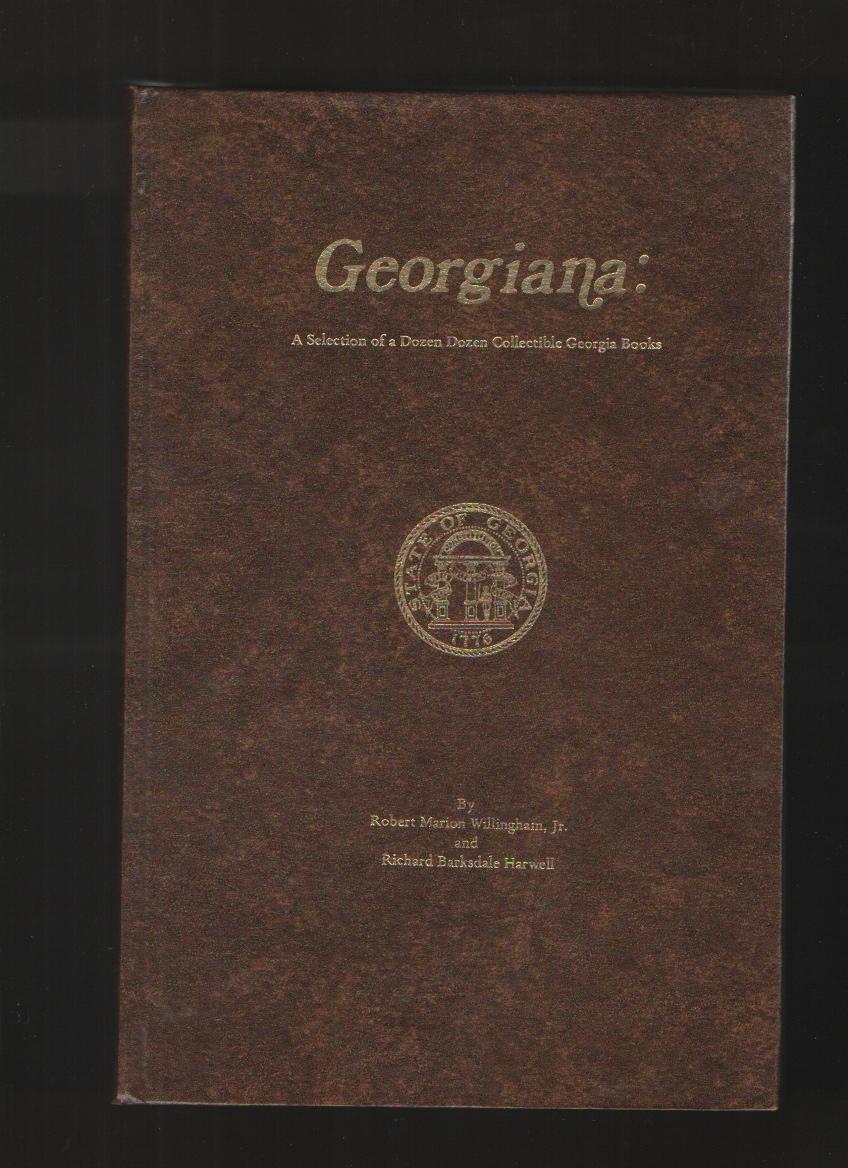 Image for GEORGIANA   A Selection of a Dozen Dozen Collectible Georgia Books.