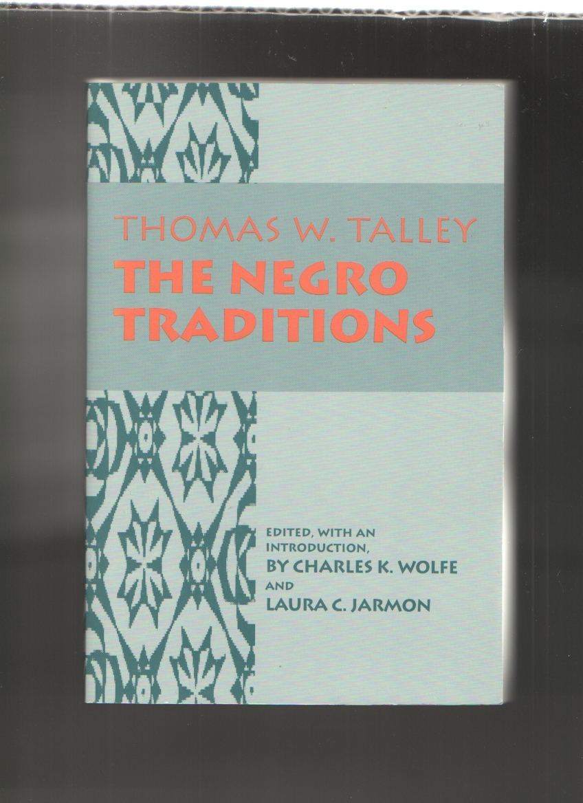 Image for The Negro Traditions