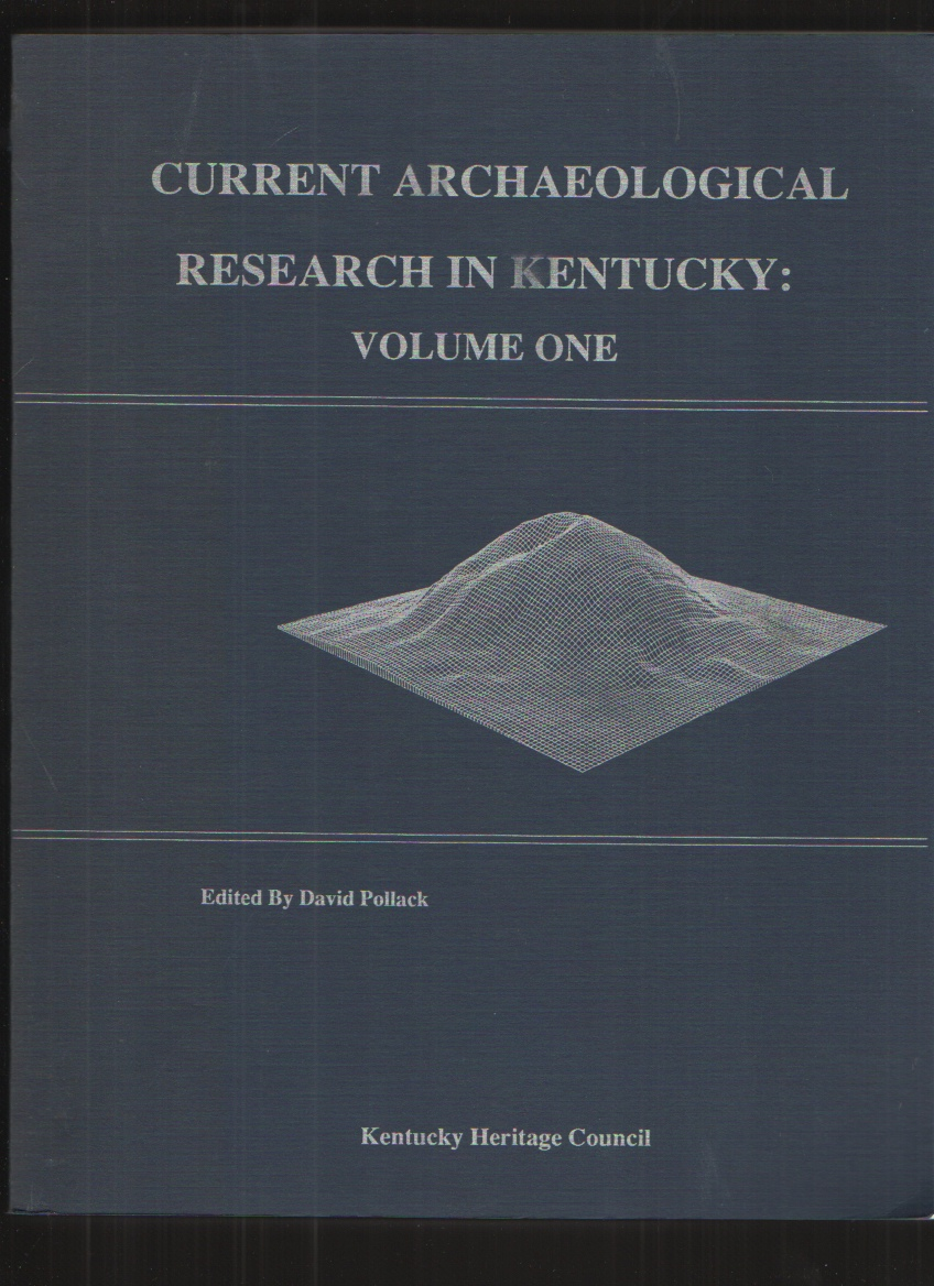 Image for Current Archaeological Research in Kentucky Volume One