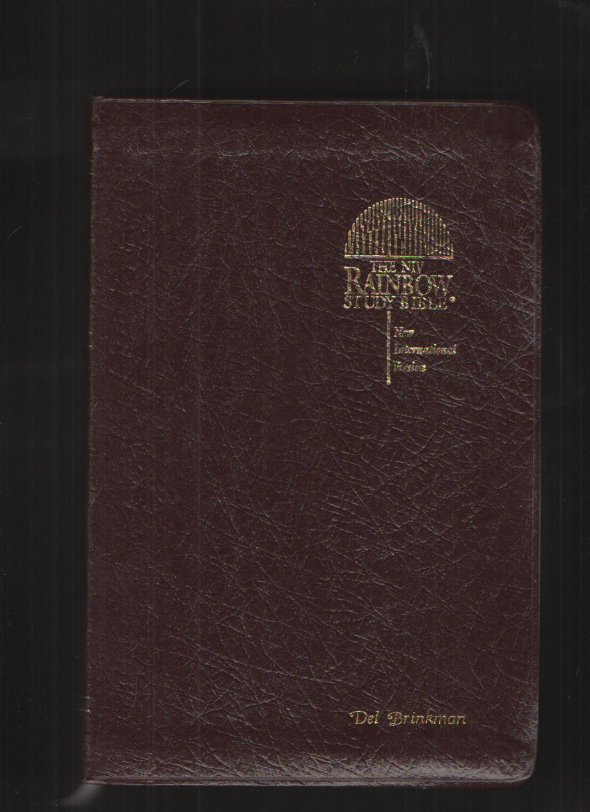 Image for The Rainbow Study Bible New International Version Genuine Bonded Leather Indexed