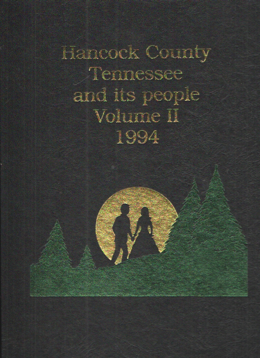 Image for Hancock County, Tennessee and its People 1844-1994 Volume II
