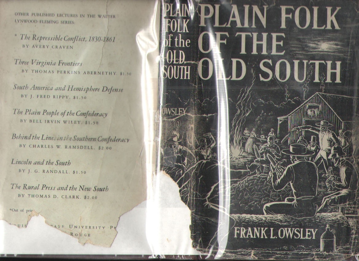 Image for Plain Folk of the Old South