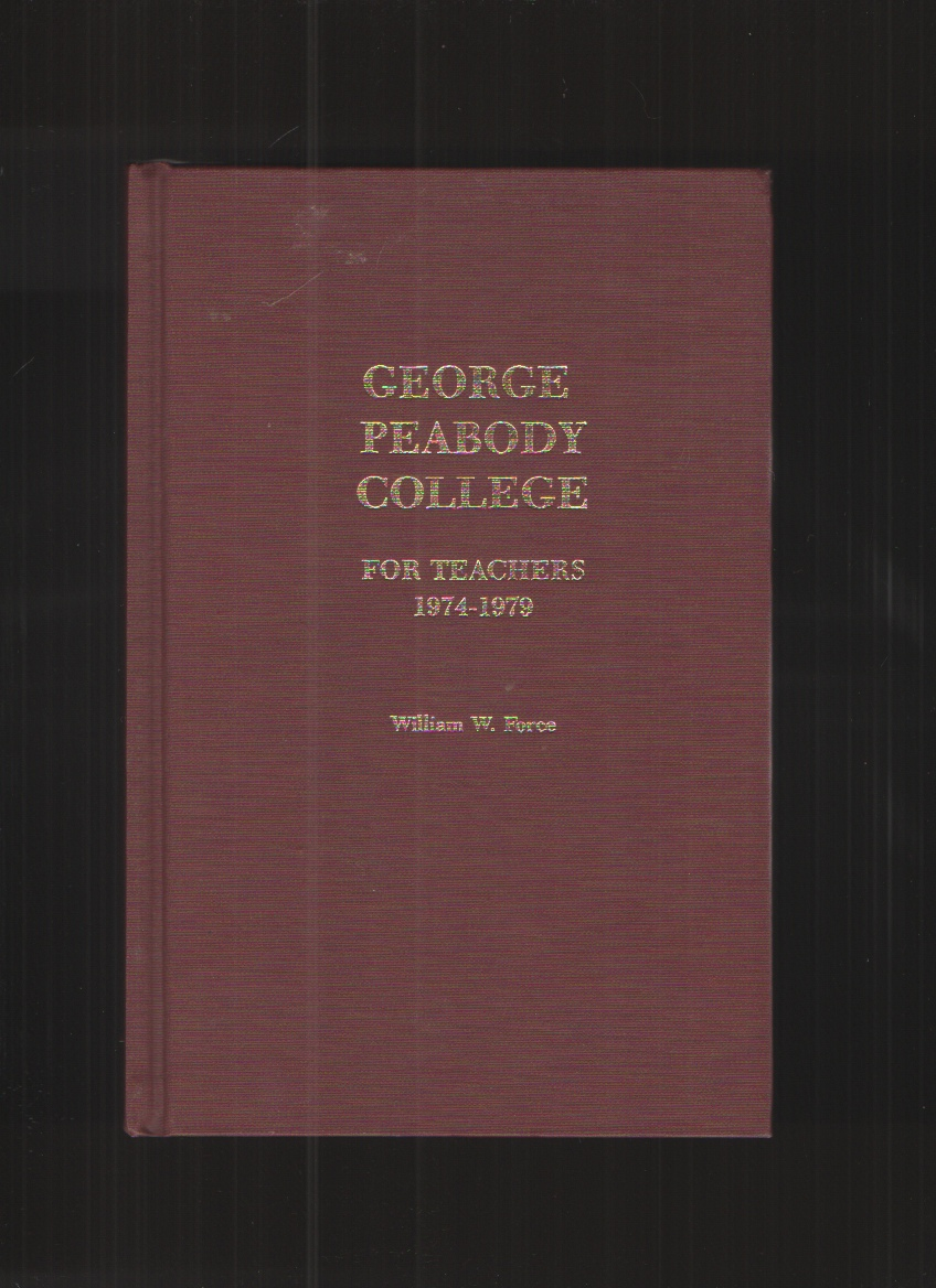 Image for George Peabody College for Teachers 1974-1979