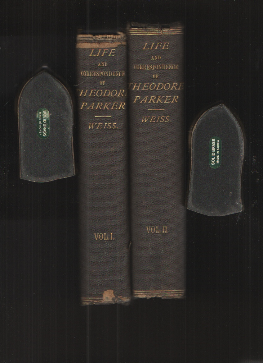 Image for Life and Correspondence of Theodore Parker - in Two Volumes Minister of the Twenty-Eight Congregational Society, Boston