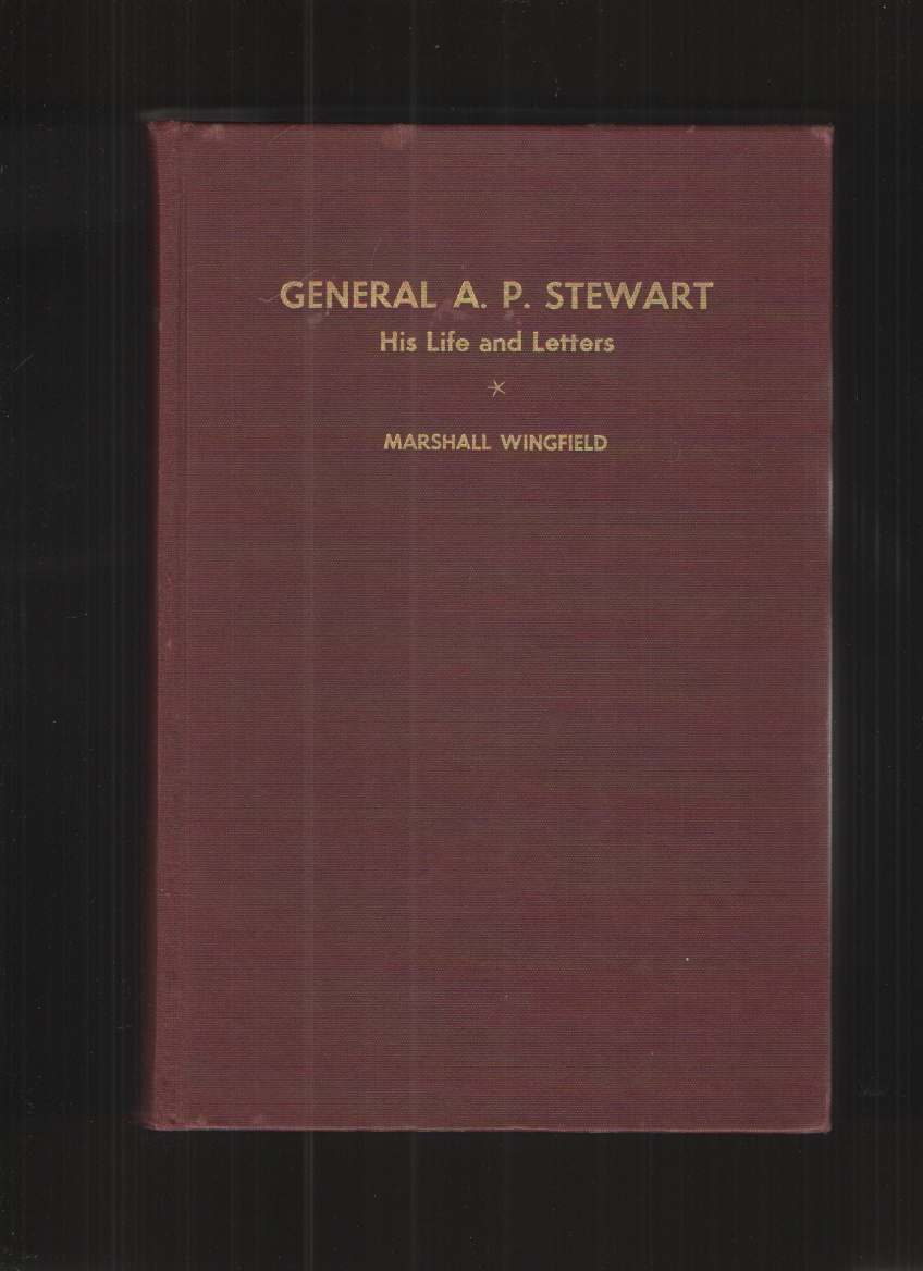 Image for General A. P. Stewart,  His life and letters