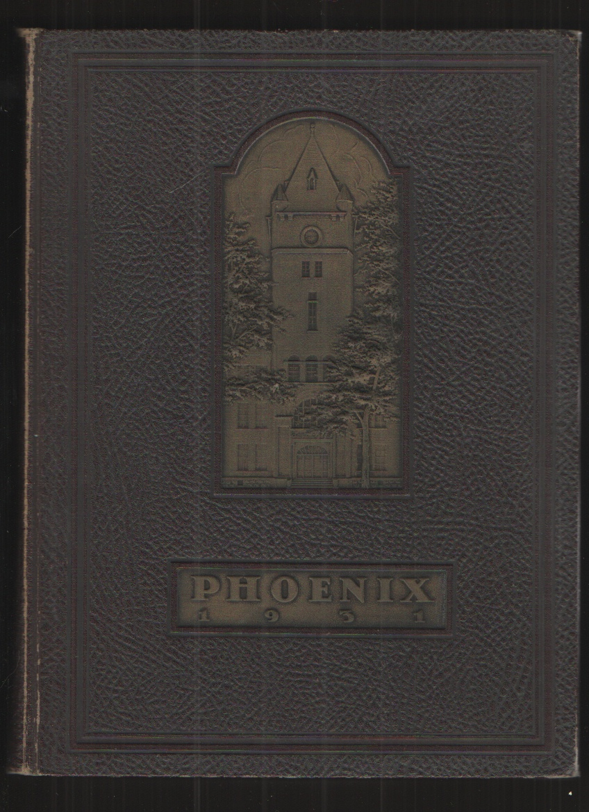 Image for 1931 Phoenix, Cumberland University - Original Edition