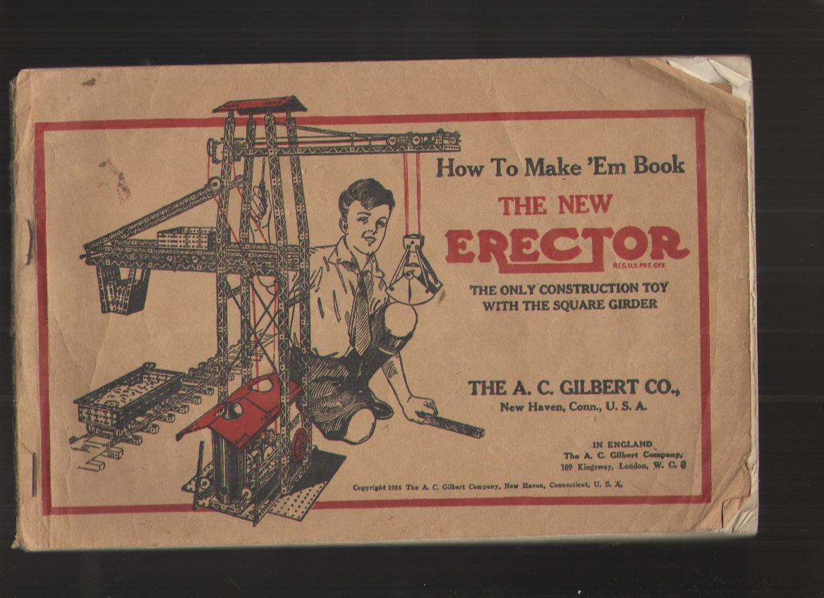 Image for How to Make 'em Book, the New Erector - Instruction Book The Only Construction Toy with the Square Girder