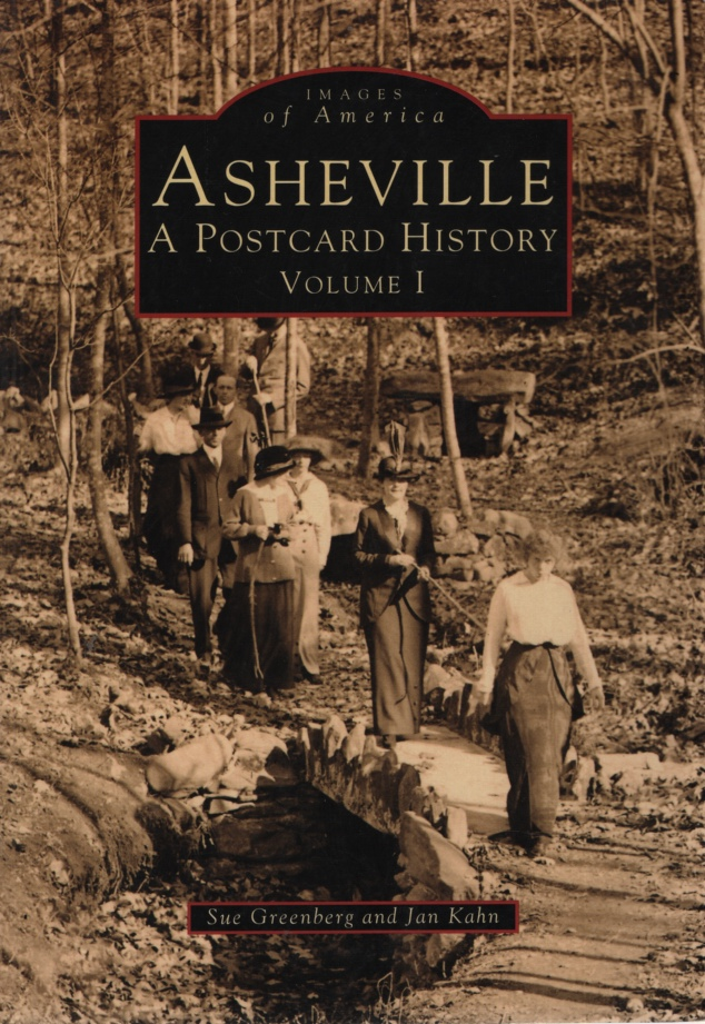 Image for ASHEVILLE, A POSTCARD HISTORY, VOLUME I