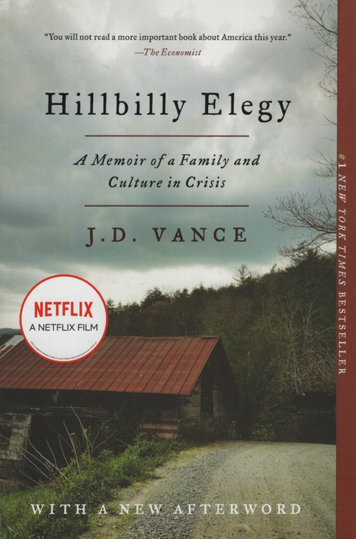 Image for HILLBILLY ELEGY  A Memoir of a Family and Culture in Crisis