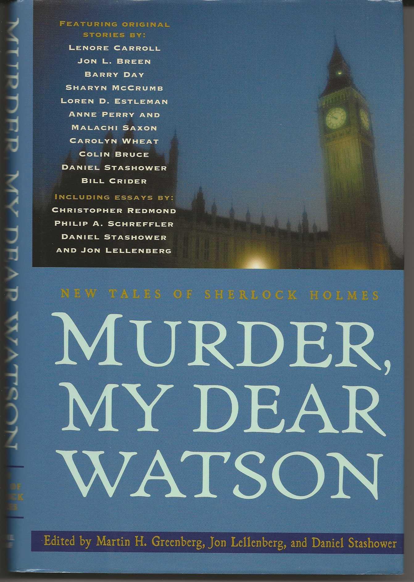 Image for MURDER, MY DEAR WATSON:  New Tales of Sherlock Holmes