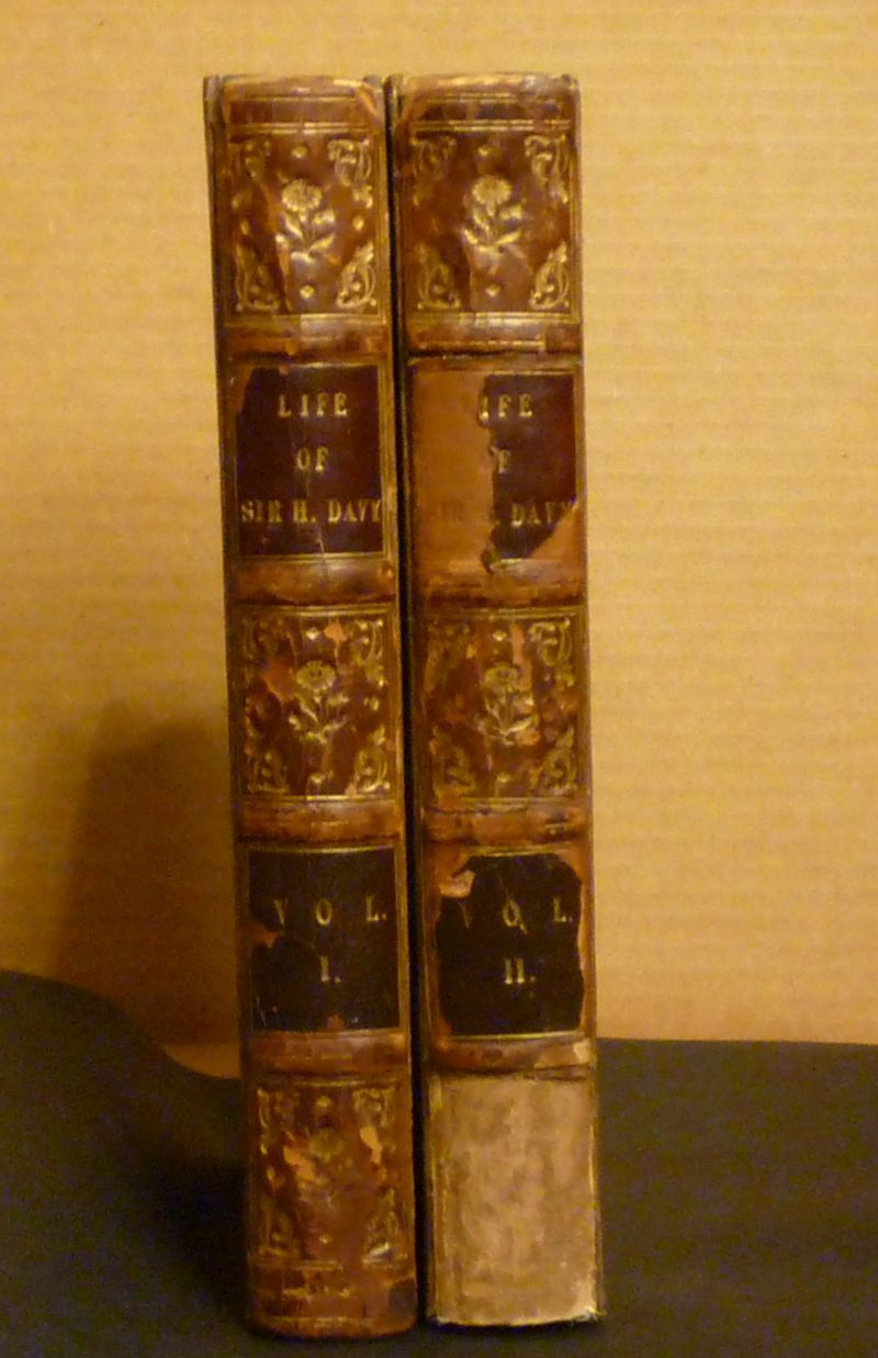 Image for The Life of Sir Humphry Davy, Bart., LL.D, Late President of the Royal Society, Foreign Associate of the Royal Institute of France... Volumes I and II