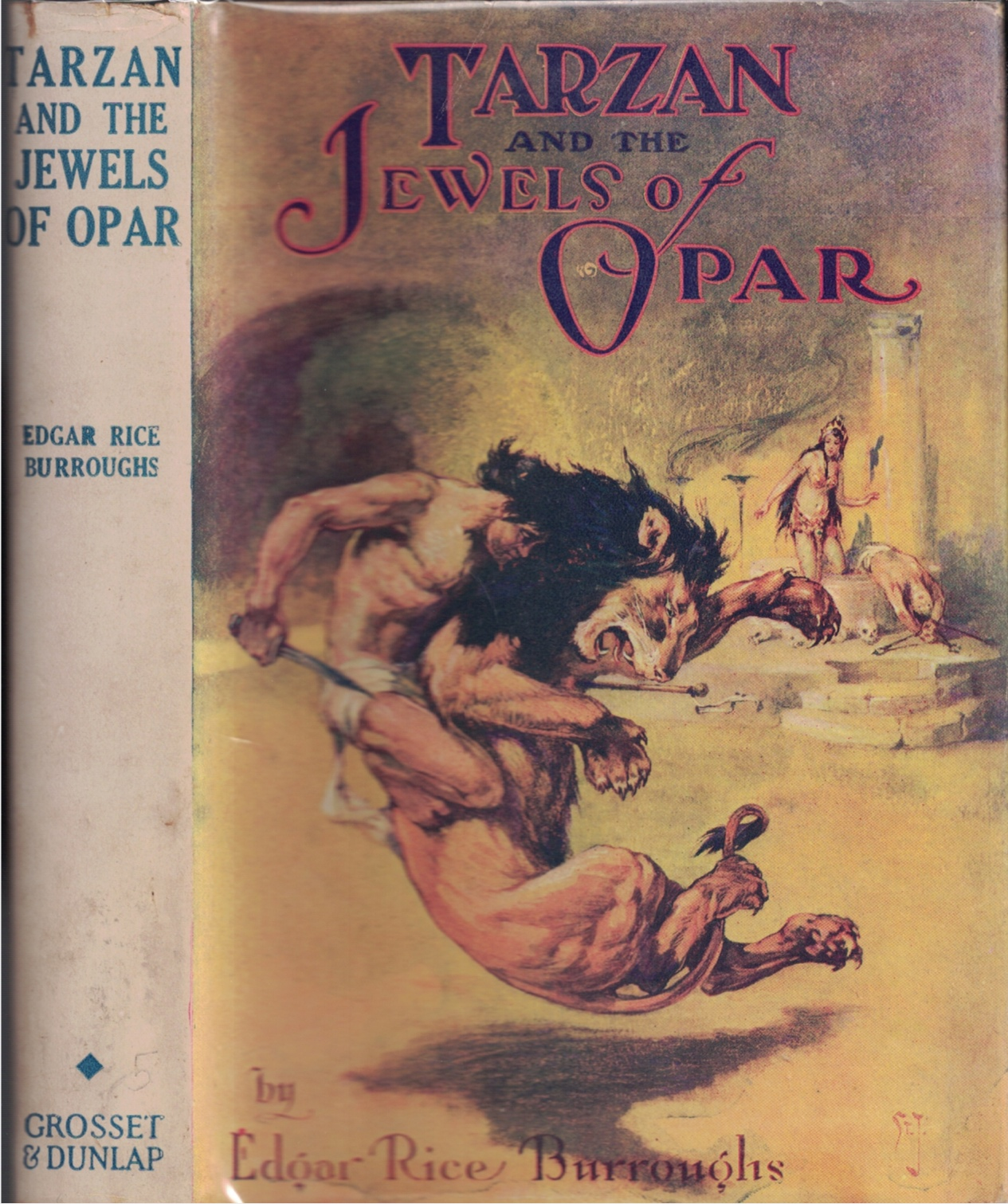 Image for Tarzan and the Jewels of Opar