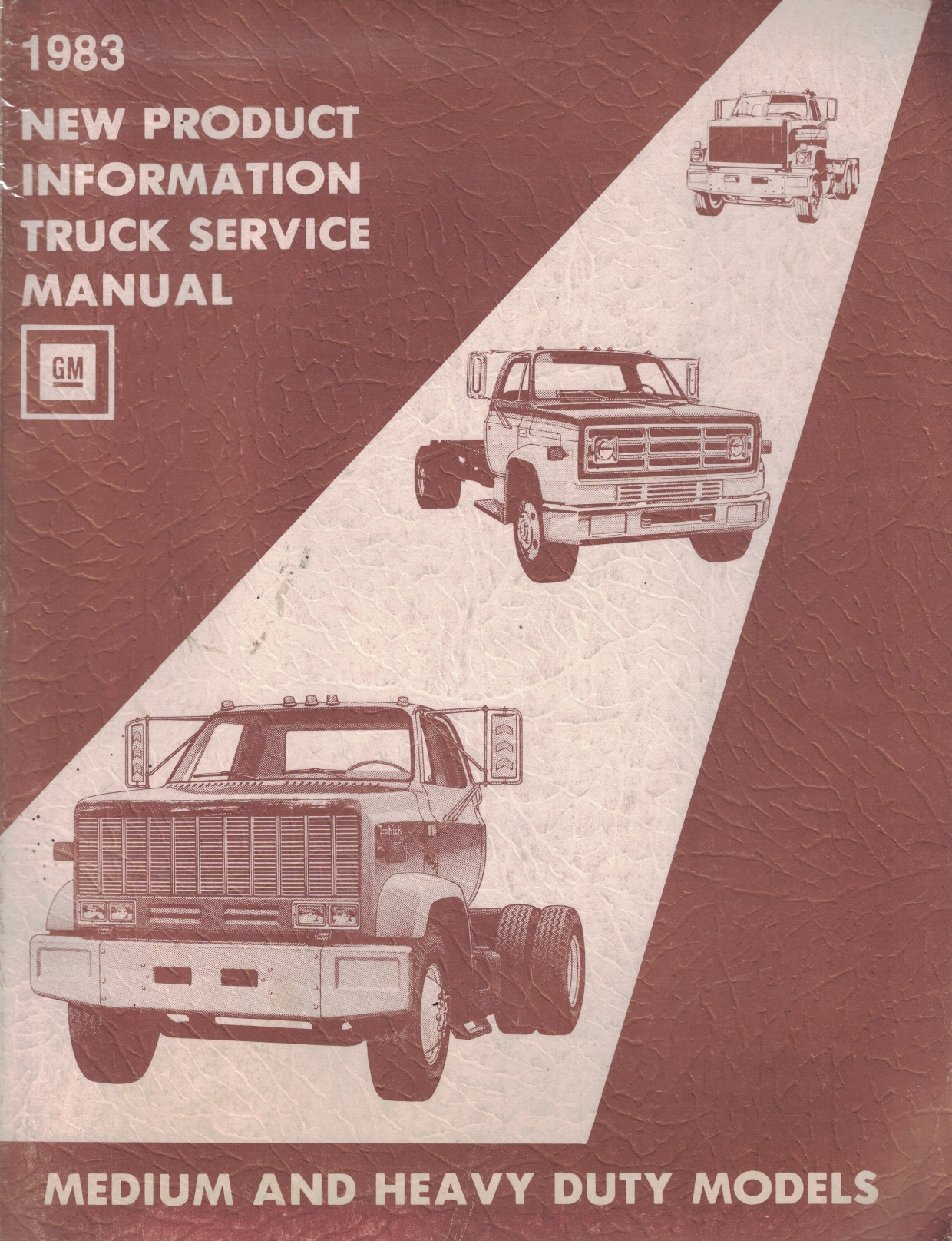 Image for 1983 GMC/Chevrolet New Product Information Truck Service Manual - Medium and Heavy Duty Models