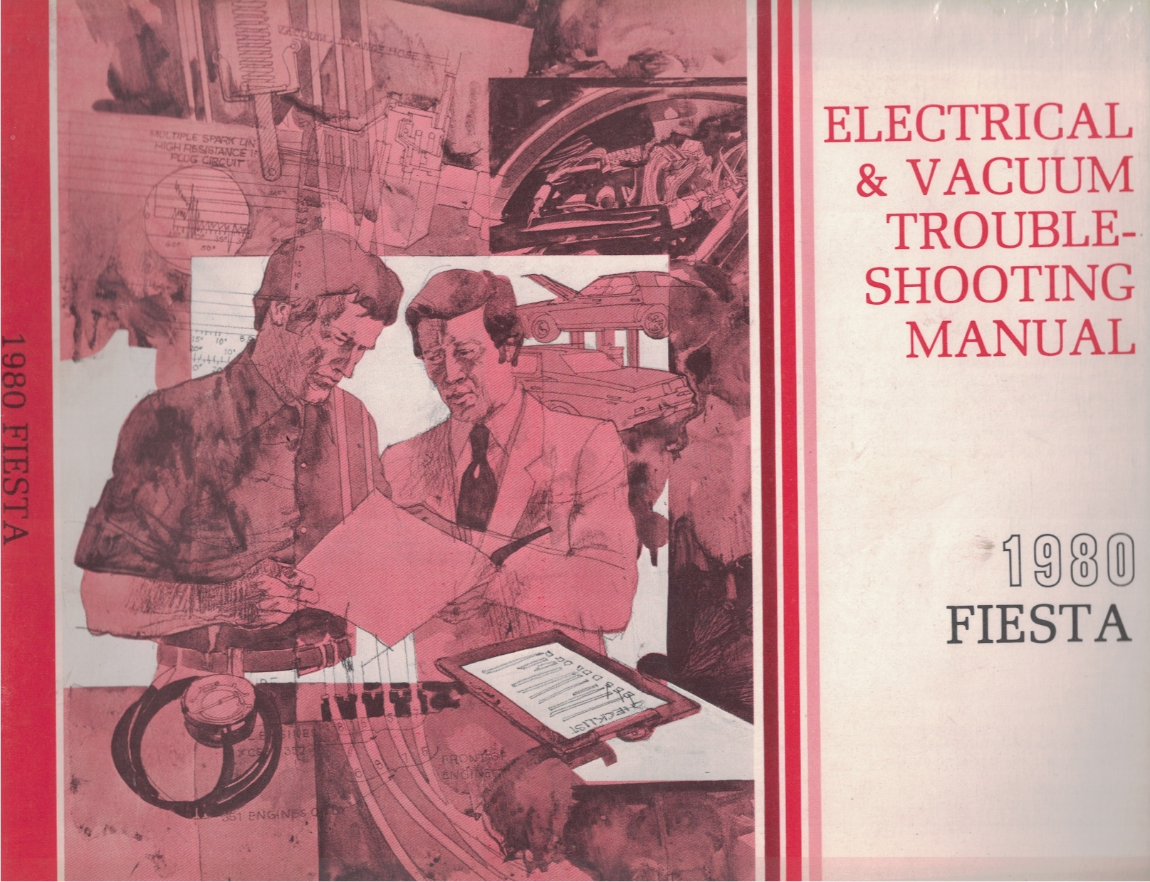 Image for 1980 Ford Fiesta Electrical and Vacuum Troubleshooting Manual (EVTM)