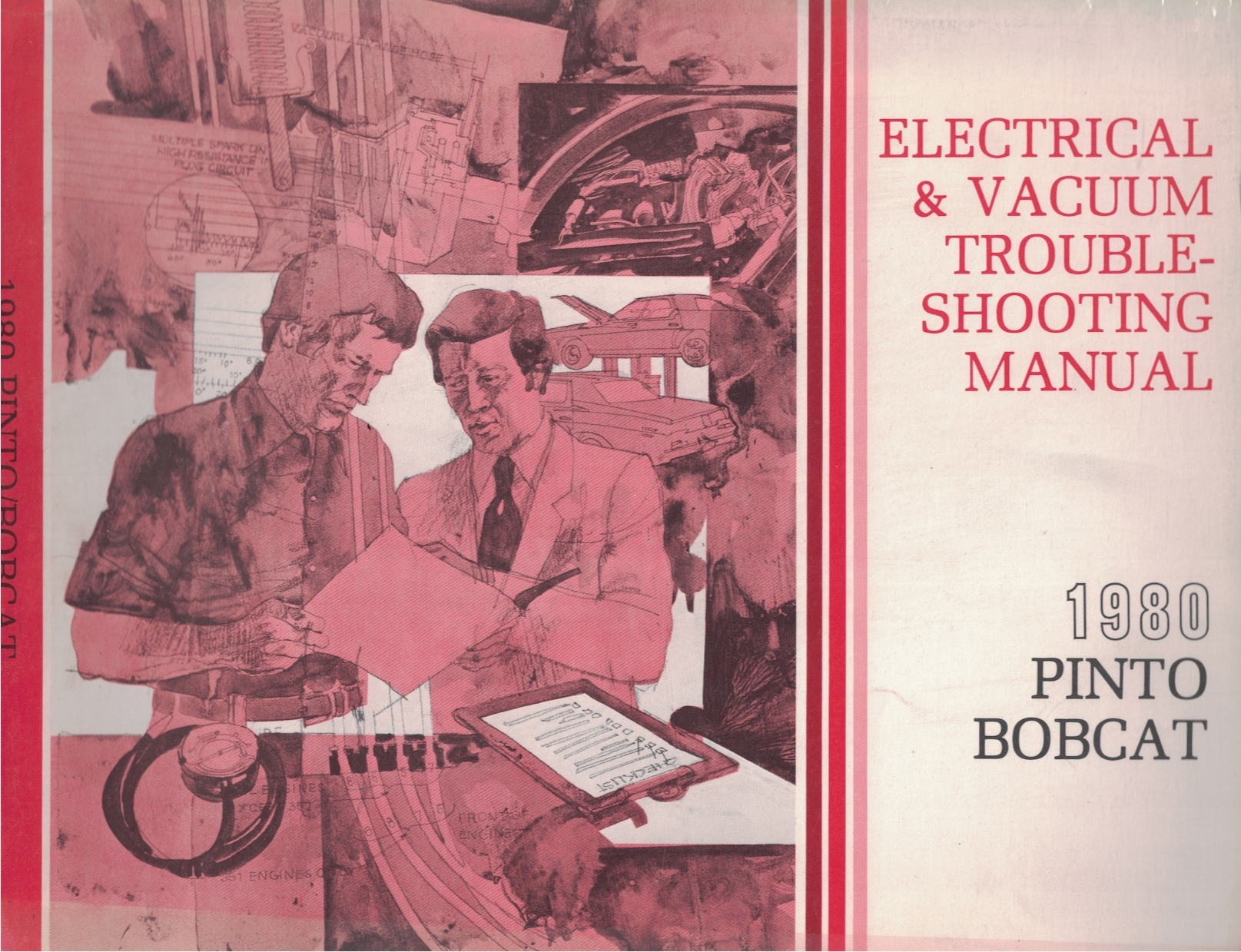 Image for 1980 Ford Pinto, Mercury Bobcat Electrical and Vacuum Troubleshooting Manual (EVTM)