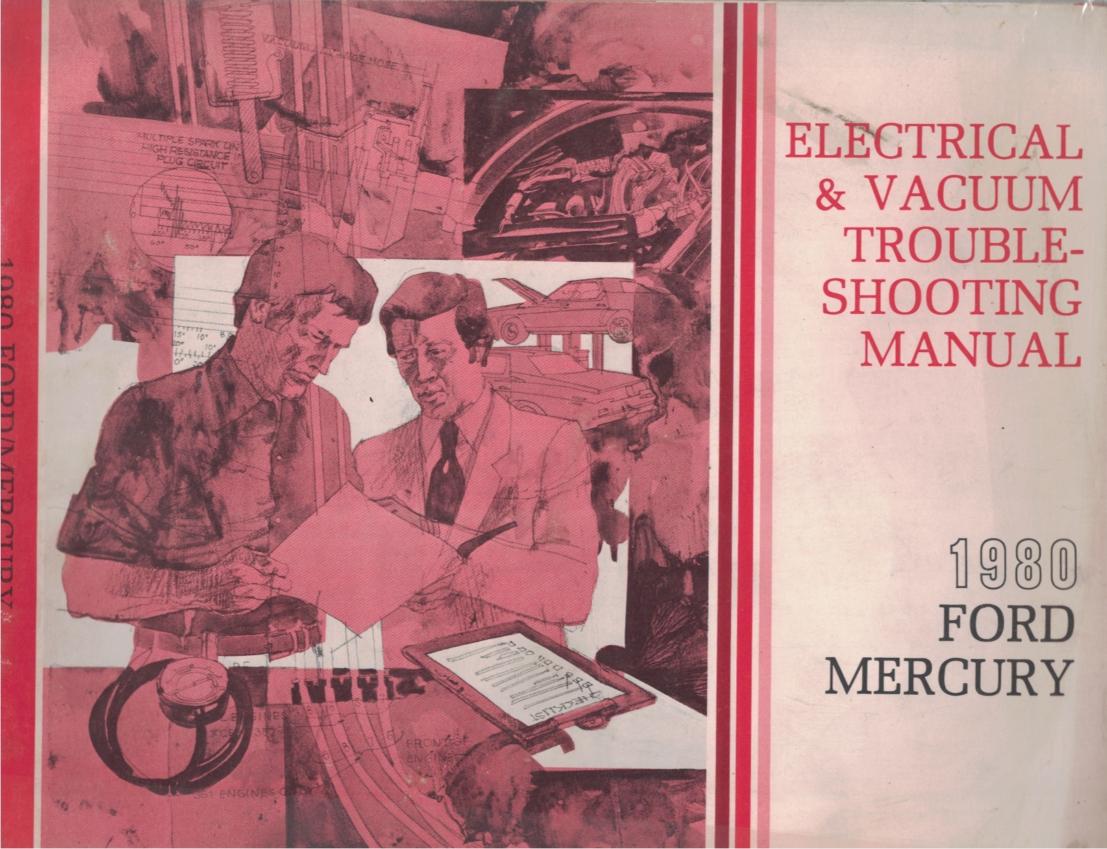 Image for 1980 Ford / Mercury Electrical and Vacuum Troubleshooting Manual (EVTM)