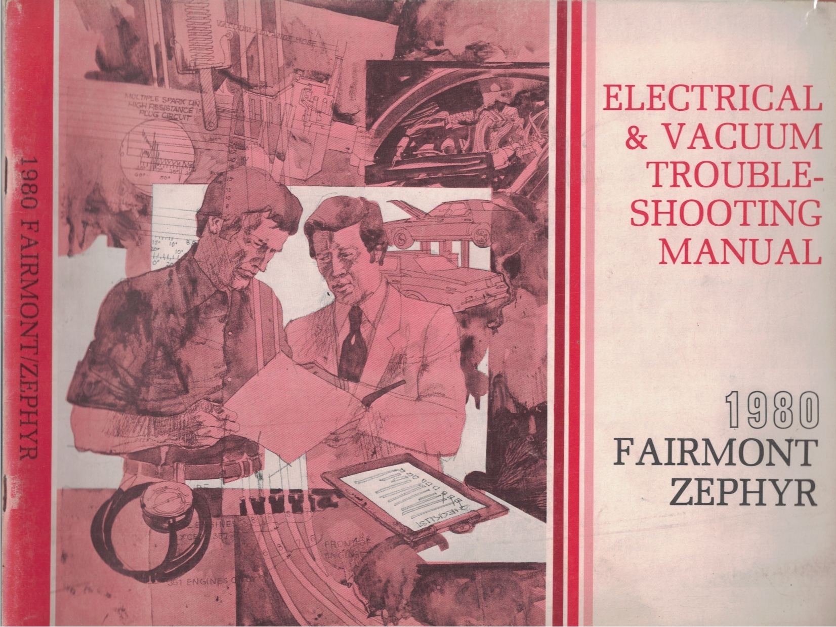 Image for 1980 Ford Fairmont / Mercury Zephyr Electrical and Vacuum Troubleshooting Manual (EVTM)