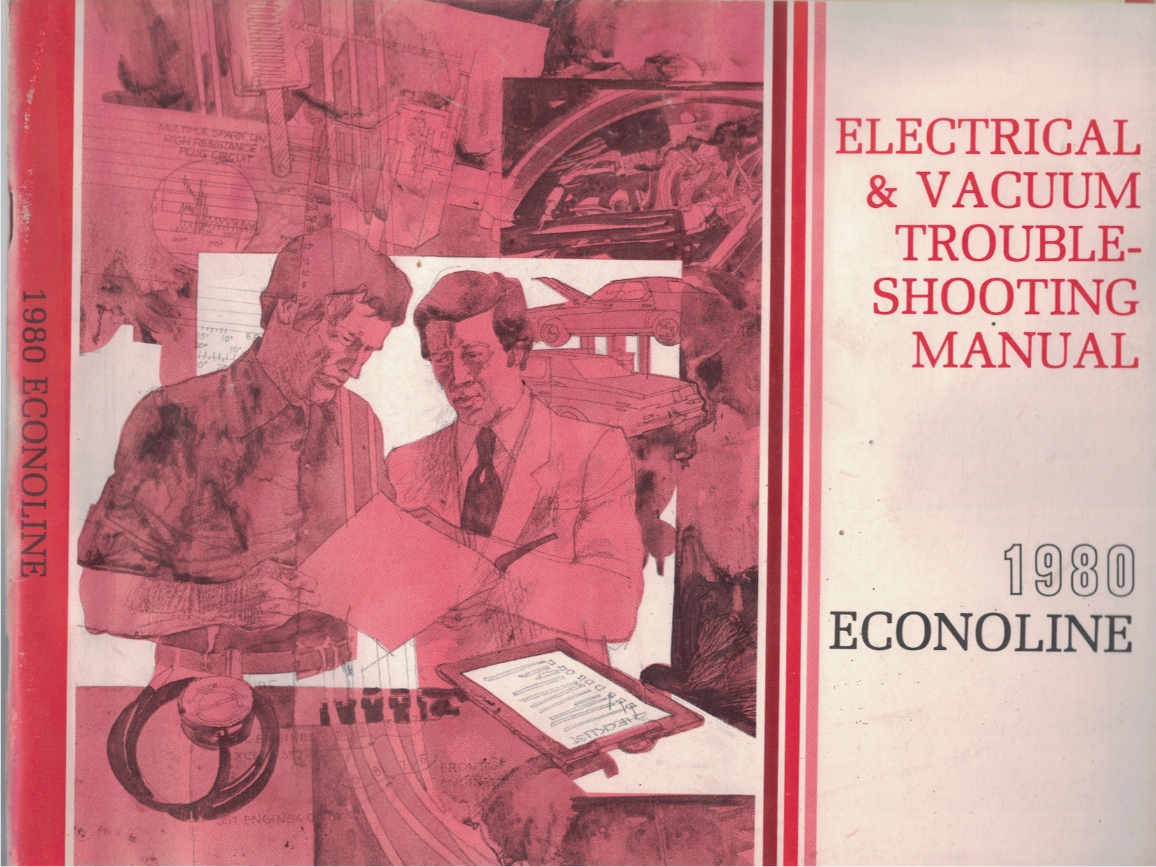 Image for 1980 Ford Econoline Electrical and Vacuum Troubleshooting Manual (EVTM)