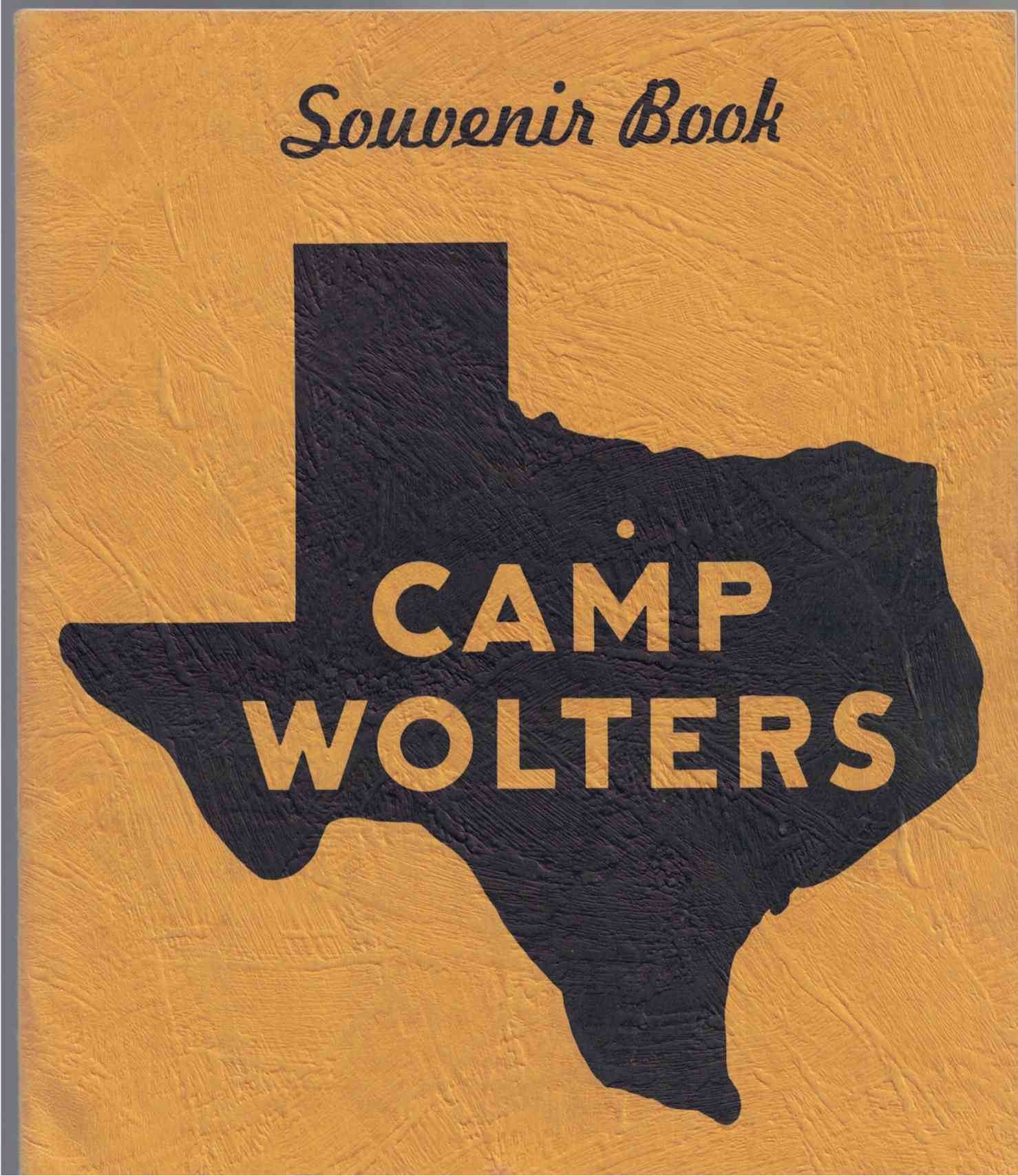 Image for Camp Wolters Souvenir Book