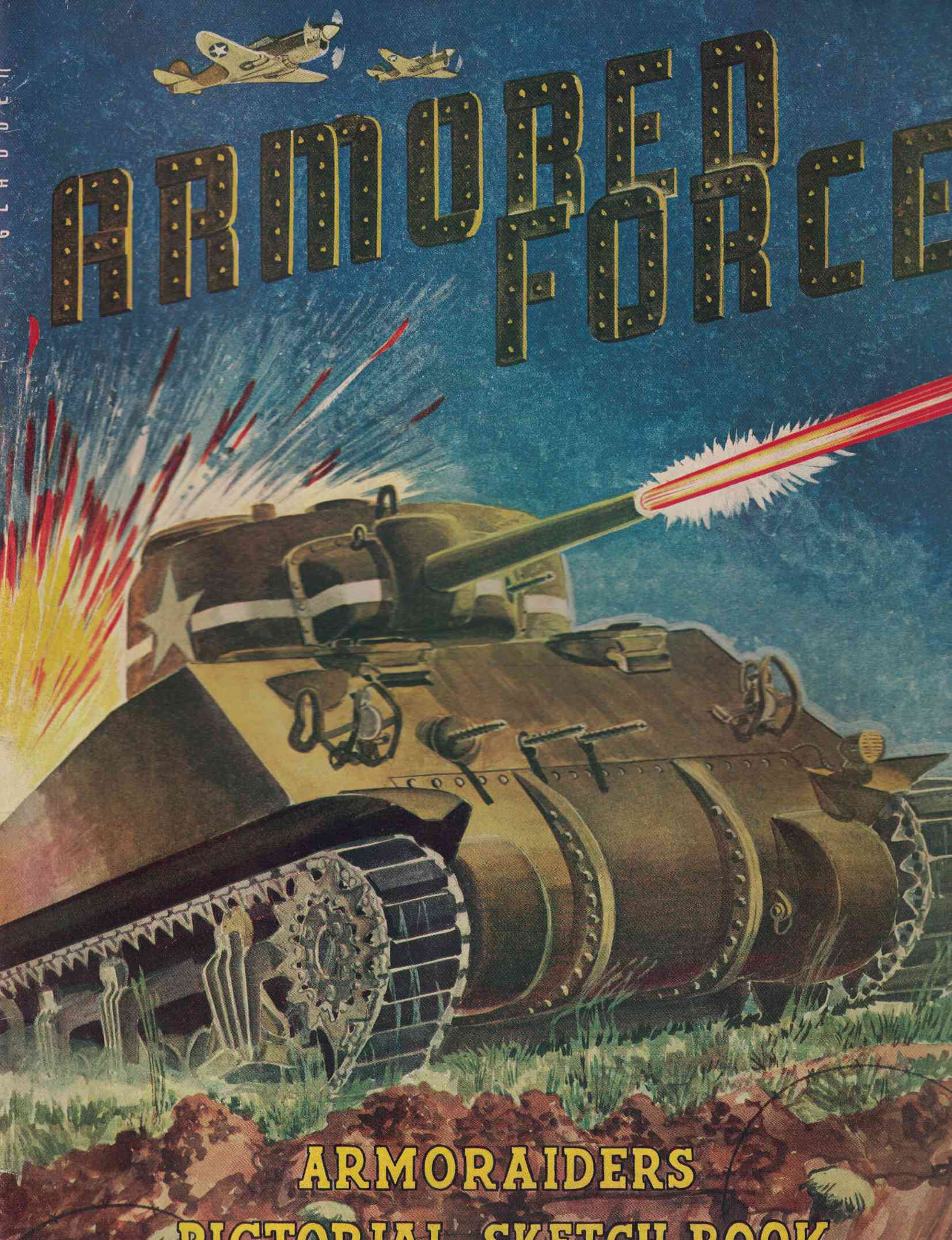 Image for Armored Force: Armoraiders Pictorial Sketch Book