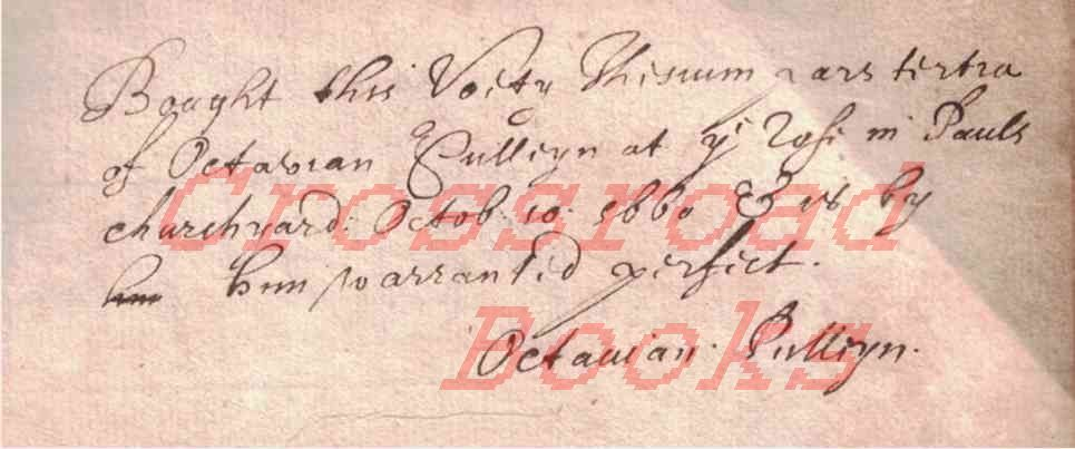 Image for Selectarum Disputationum Theologicarum; Pars Secunda, Pars Tertia, & Pars Quinta (volumes 2, 3 & 5 only) [Bookseller Octavian Pulleyn inscription]