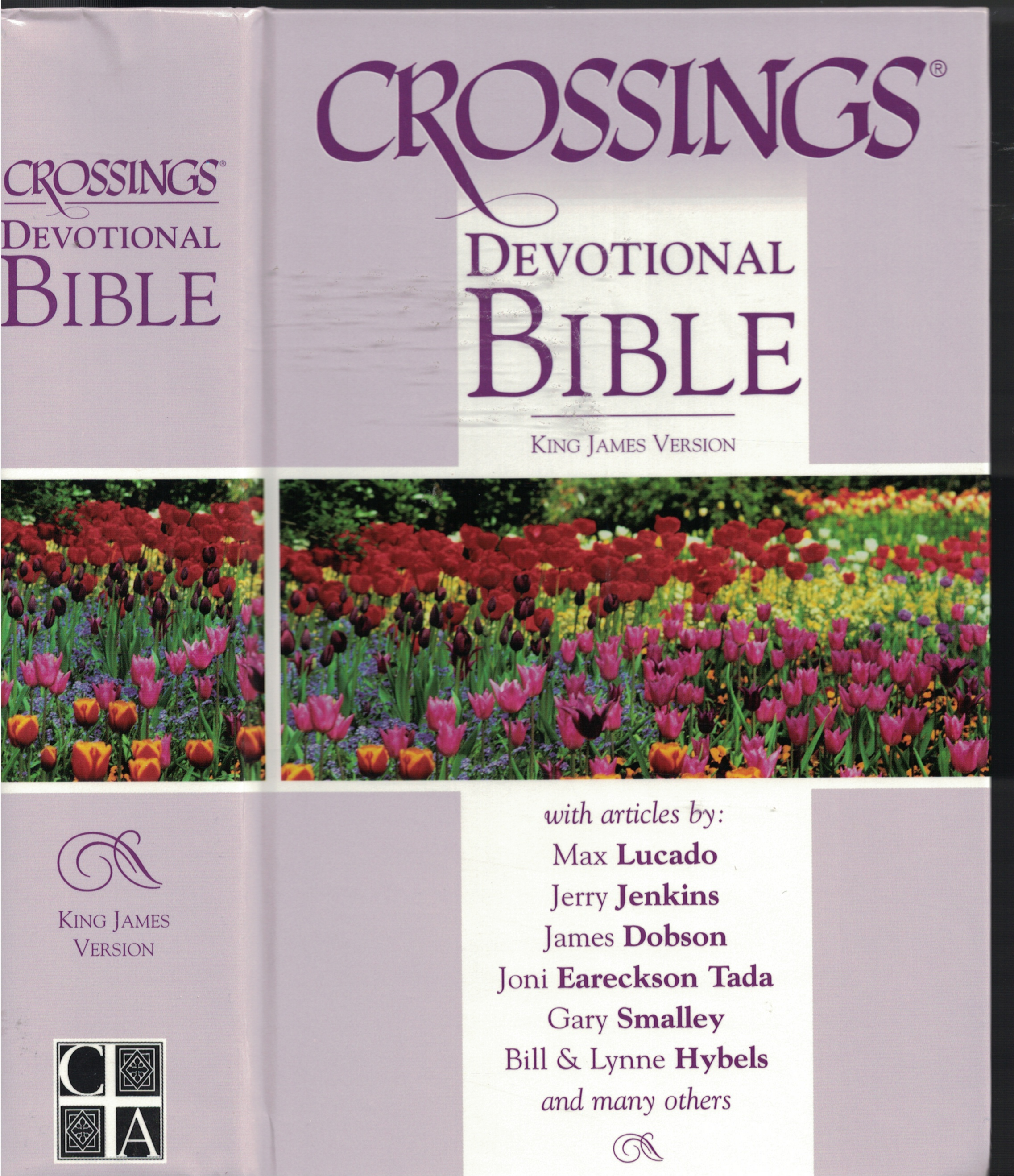 Image for Crossings Devotional Bible - King James Version