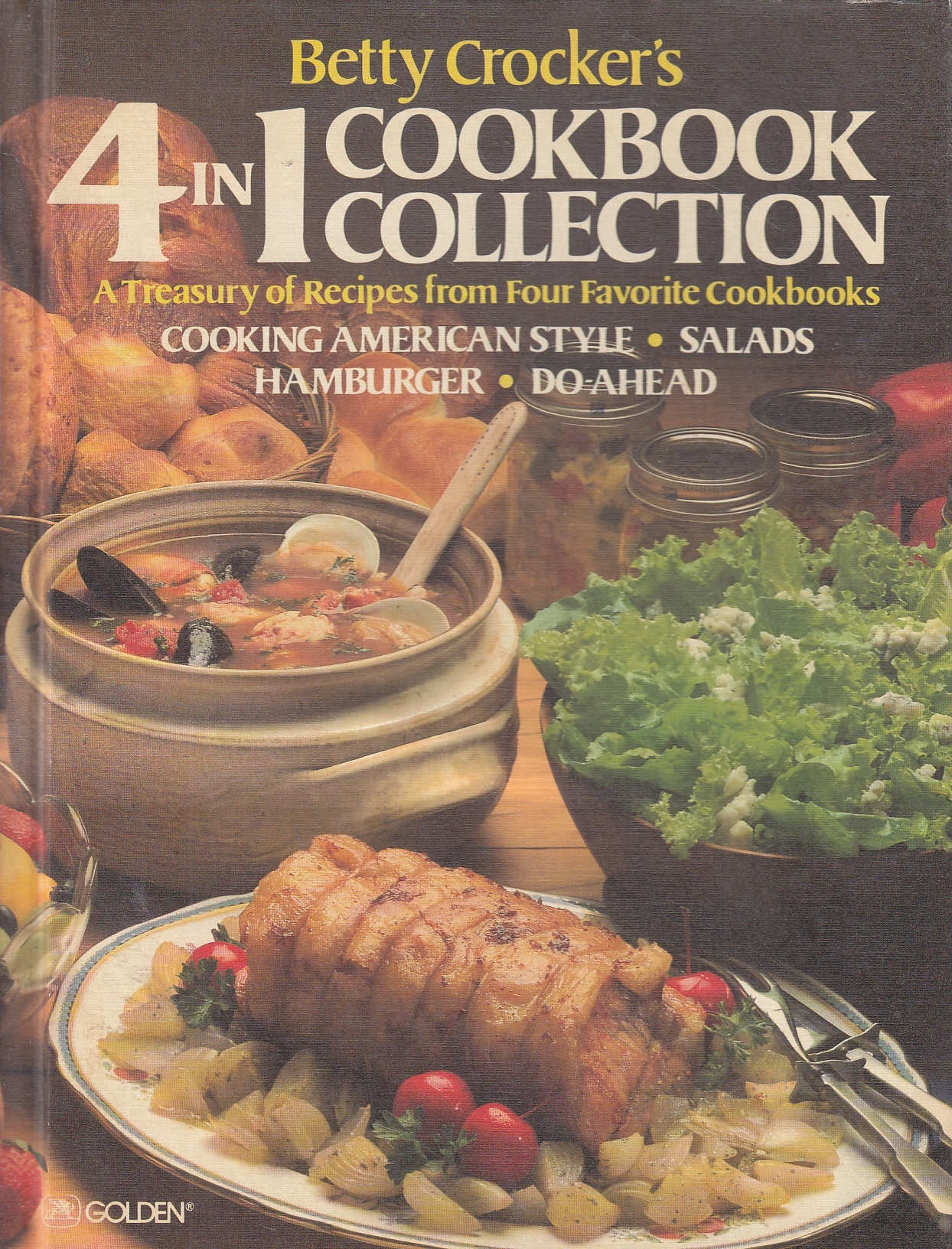 Image for Betty Crocker's 4 in 1 Cookbook Collection