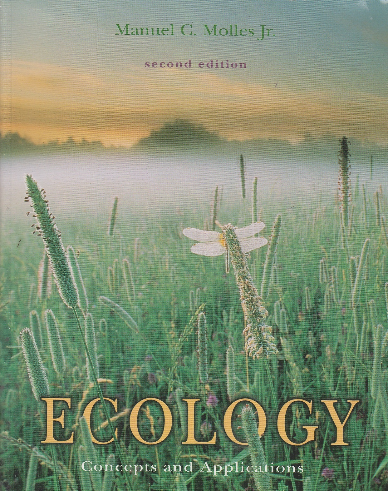 Image for Ecology Concepts and Applications