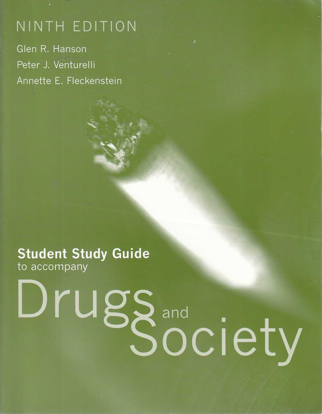 Image for Student Study Guide to Accompany Drugs and Society