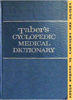 Image for Taber's Cyclopedic Medical Dictionary, Ninth Edition