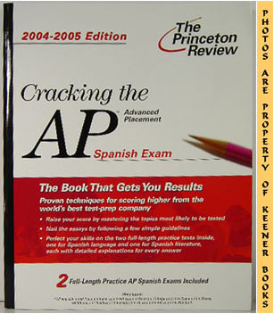 Image for Cracking The AP Spanish Exam (Advanced Placement 2004-2005)